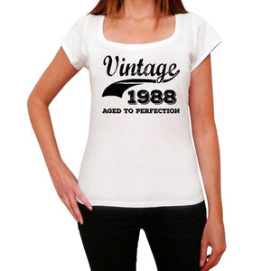 Femme Tee Vintage T Shirt Vintage Aged to Perfection 1988