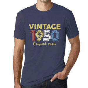 Ultrabasic - Homme Graphique Vintage 1950 T-Shirt Denim