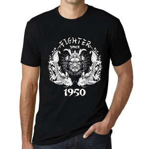 Fighter Since Black Mens T Shirt