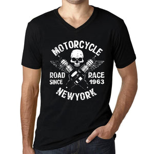 Motorcycle Race Since Black Mens T Shirt