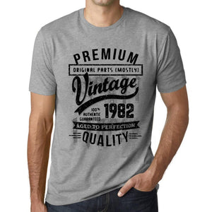 ULTRABASIC - <span>Graphic</span> <span>Men's</span> 1982 Aged to Perfection Birthday Gift T-Shirt - ULTRABASIC