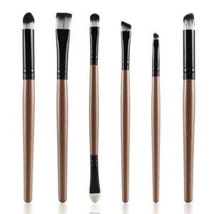 6PCS Cosmetic Makeup Brush Lip Makeup Brush Eyeshadow Brush - Ultrabasic