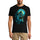 ULTRABASIC Men's Graphic T-Shirt Death and Rebirth - Scary Monster Shirt for Men