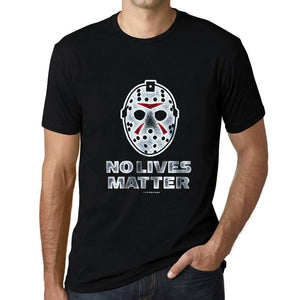 Men's Graphic T-Shirt No Lives Matter Ski Mask T-Shirt Deep Black-fashion-t-shirts-Ultrabasic