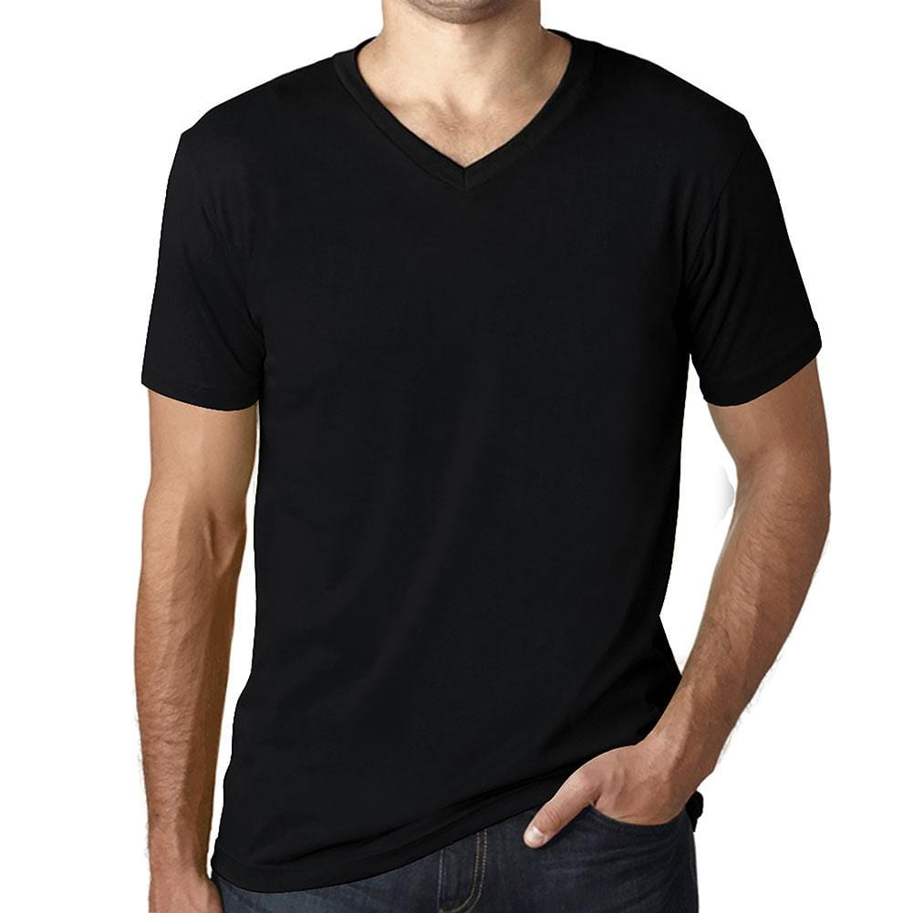 <span>Simple Order</span> • <span>Custom Men&#x27;s V-Neck T-shirt</span> • <span>Your multicolor design on the t-shirt color of your choice</span> (15 <span>colors</span>)