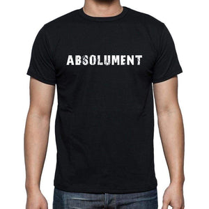 Absolument French Dictionary Mens Short Sleeve Round Neck T-Shirt 00009 - Casual