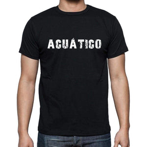 Acutico Mens Short Sleeve Round Neck T-Shirt - Casual