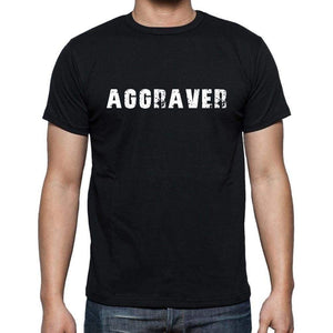 Aggraver French Dictionary Mens Short Sleeve Round Neck T-Shirt 00009 - Casual