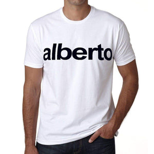 Alberto Mens Short Sleeve Round Neck T-Shirt 00050