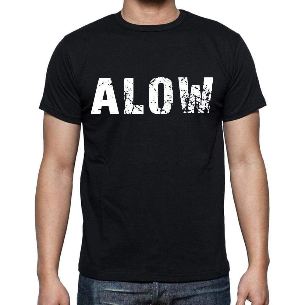 Alow Mens Short Sleeve Round Neck T-Shirt 00016 - Casual