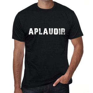 Aplaudir Mens T Shirt Black Birthday Gift 00550 - Black / Xs - Casual