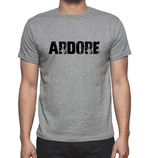 Ardore Grey Mens Short Sleeve Round Neck T-Shirt 00018 - Grey / S - Casual