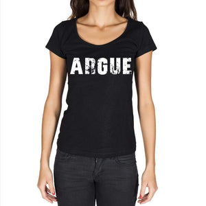 Argue Womens Short Sleeve Round Neck T-Shirt - Casual