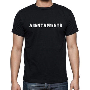 Asentamiento Mens Short Sleeve Round Neck T-Shirt - Casual