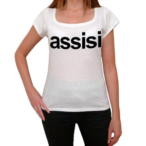 Assisi Tourist Attraction Womens Short Sleeve Scoop Neck Tee 00072