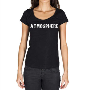 Atmosphere Womens Short Sleeve Round Neck T-Shirt - Casual