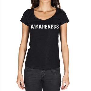 Awareness Womens Short Sleeve Round Neck T-Shirt - Casual