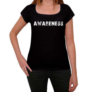 Awareness Womens T Shirt Black Birthday Gift 00547 - Black / Xs - Casual
