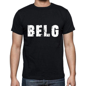 Belg Mens Short Sleeve Round Neck T-Shirt 00003 - Casual