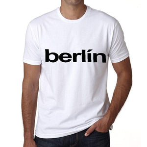 Berlín Mens Short Sleeve Round Neck T-Shirt 00047