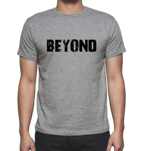 Beyond Grey Mens Short Sleeve Round Neck T-Shirt 00018 - Grey / S - Casual