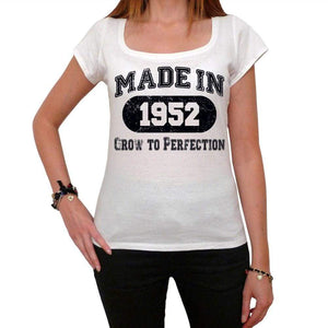 Birthday Gift Made 1952 T-Shirt Gift T Shirt Womens Tee - White / Xs - T-Shirt