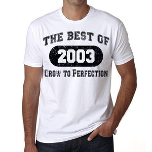 Birthday Gift The Best Of 2003 T-Sirt Gift T Shirt Mens Tee - S / White