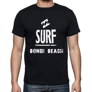 Bondi Beach Surf Surfing T-Shirt Mens Short Sleeve Round Neck T-Shirt - Casual