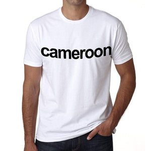 Cameroon Mens Short Sleeve Round Neck T-Shirt 00067