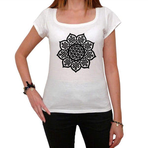 Celtic Mandala White Womens T-Shirt 100% Cotton 00176
