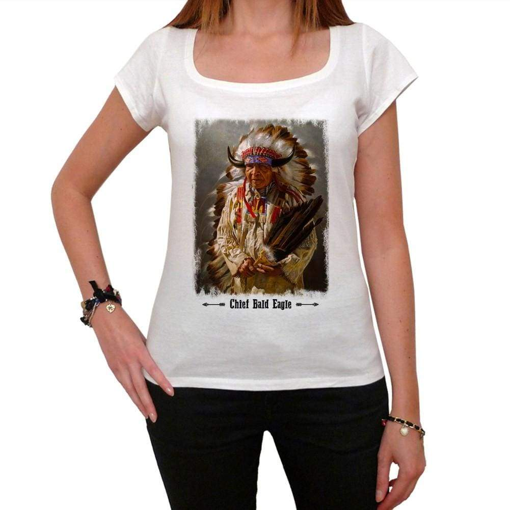 Chief Bald Eagle Tshirt David Bald Eagle Tshirt David Bald Eagle Elder Womens Short Sleeve Scoop Neck Tee 00247