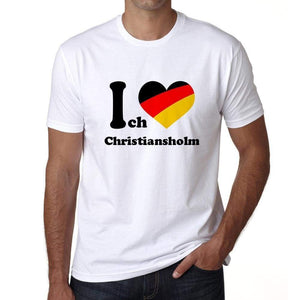 Christiansholm Mens Short Sleeve Round Neck T-Shirt 00005 - Casual