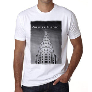 Chrysler Building Mens Short Sleeve Round Neck T-Shirt