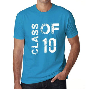 Class Of 10 Grunge Mens T-Shirt Blue Birthday Gift 00483 - Blue / Xs - Casual