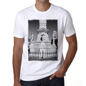 Confederate Monument 1 Men's Short Sleeve Round Neck T-shirt - Ultrabasic