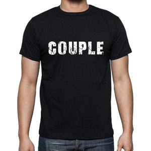 Couple French Dictionary Mens Short Sleeve Round Neck T-Shirt 00009 - Casual