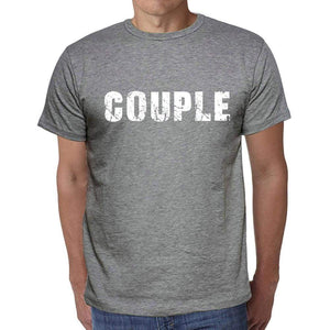 Couple Mens Short Sleeve Round Neck T-Shirt 00045 - Casual