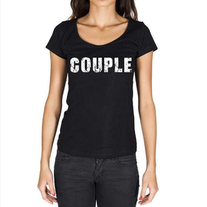 Couple Womens Short Sleeve Round Neck T-Shirt - Casual