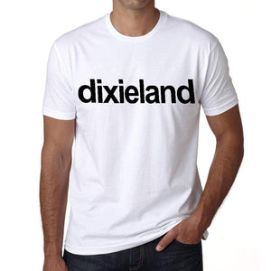 Dixieland Tourist Attraction Mens Short Sleeve Round Neck T-Shirt 00071