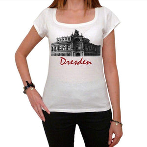 Dresden Tshirt Womens Short Sleeve Scoop Neck Tee 00181