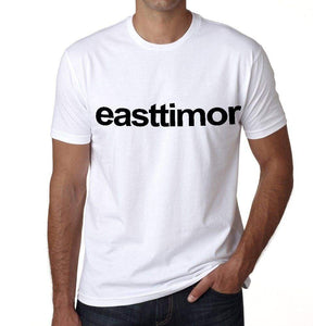 East Timor Mens Short Sleeve Round Neck T-Shirt 00067