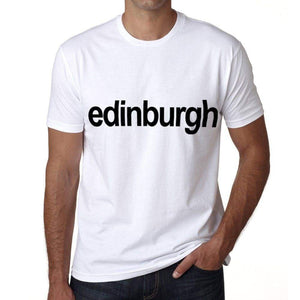 Edinburgh Mens Short Sleeve Round Neck T-Shirt 00047