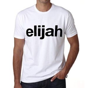 Elijah Tshirt Mens Short Sleeve Round Neck T-Shirt 00050