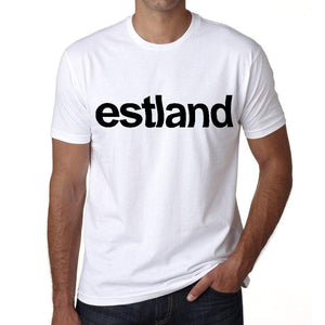 Estland Mens Short Sleeve Round Neck T-Shirt 00067