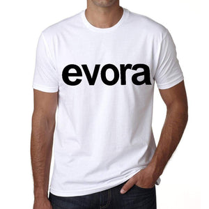 Evora Tourist Attraction Mens Short Sleeve Round Neck T-Shirt 00071