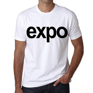 Expo Tourist Attraction Mens Short Sleeve Round Neck T-Shirt 00071