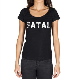 Fatal Womens Short Sleeve Round Neck T-Shirt - Casual