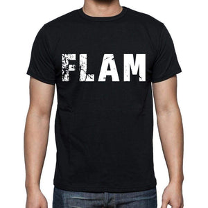 Flam Mens Short Sleeve Round Neck T-Shirt 00016 - Casual