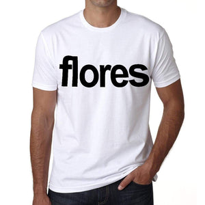 Flores Tourist Attraction Mens Short Sleeve Round Neck T-Shirt 00071