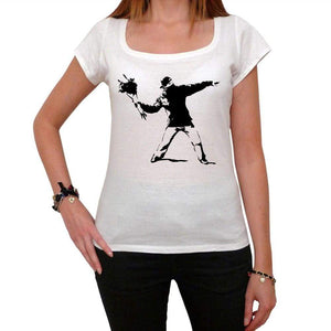 Flower Granadier 1 Tshirt White Womens T-Shirt 00163